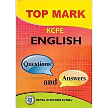 Topmark KCPE English Questions and Answers