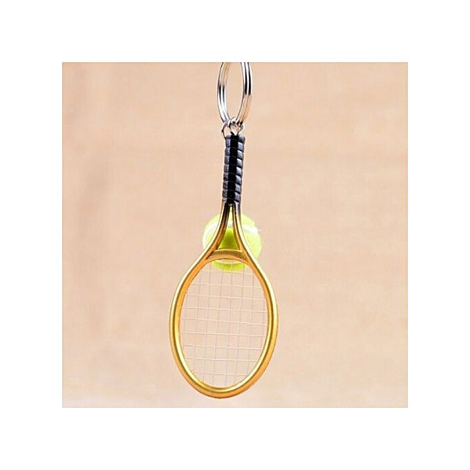 Tanson mini tennis racket pendant keychain keyring key key tanson mini tennis racket pendant keychain keyring key key accessories gifts tennis holder mozeypictures Gallery