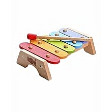 Children Kids Wooden Rainbow Xylophone Learning Musical Instrument Toy