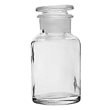 Clear Glass Wide Mouth Bottle Chemical Reagent Storage Bottle Lab Glassware 250mL