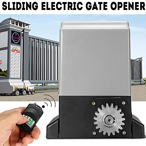 Sliding Electric Gate Opener Auto Motor With 2 Remote Controller 550W 220V