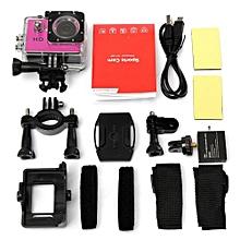 SJ4000 720P Mini DV Video Waterproof Sports Action Camera Camcorder DVR Cam (Pink)