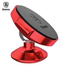 Small Ears Series Magnetic Suction Bracket Phone Holder ( Vertical Type ) - Red