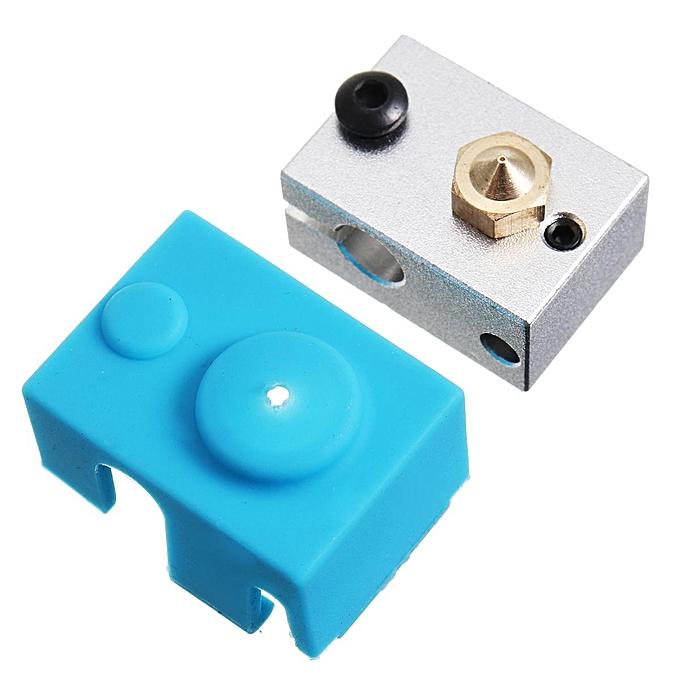 Buy Generic E3D V6 Aluminum Heater Block + Thermistor wire + ...