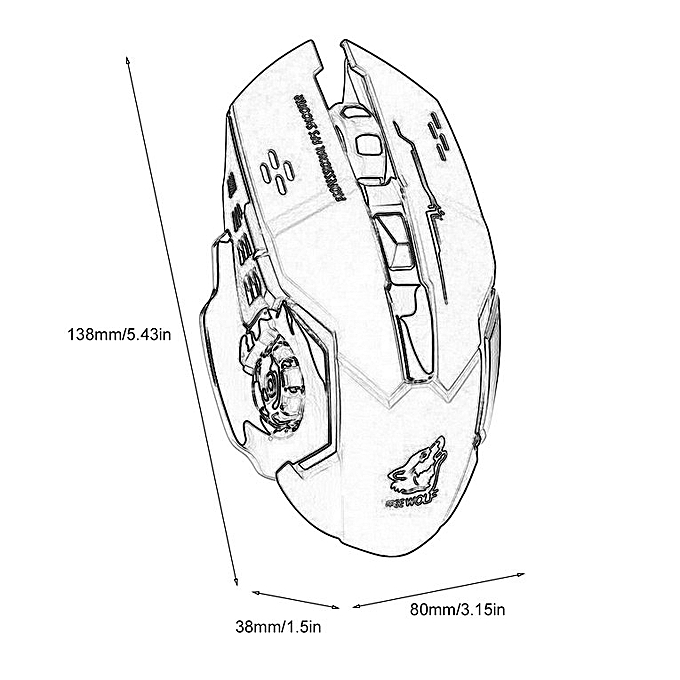 Wireles Mouse Diagram