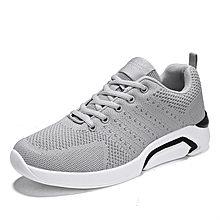 Mesh Athletic Shoes For Men Sports Running Shoes