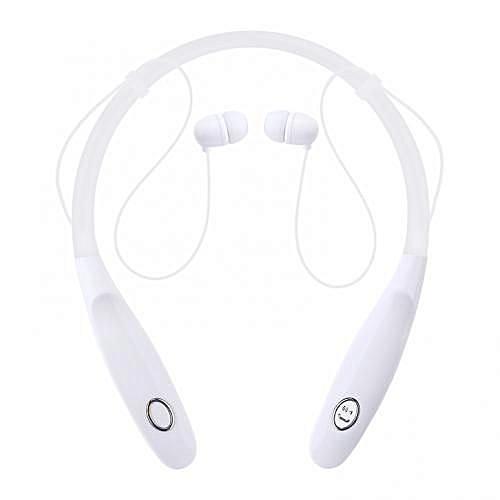 KBP -730 Stereo Neckband Wireless Sports Earphones - White