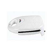 Sandwich Maker With Grill Plate - White