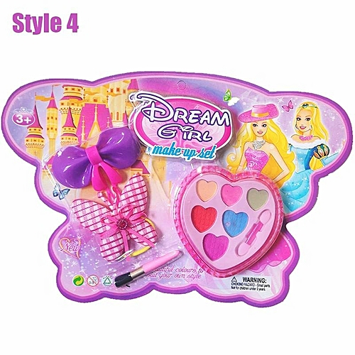 generic lovely kids makeup beauty girls cosmetic toys makeup sets