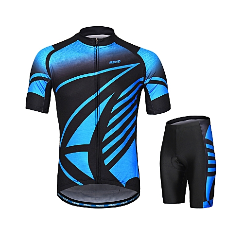 ARSUXEO ARSUXEO Men s Cycling Clothing Set Short Sleeve Set Quick-dry Shirt  3D Cushion Padded Short Pants 70b04afed