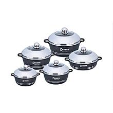 10pcs Dessini Die cast Set - Non-Stick Cooking Pots