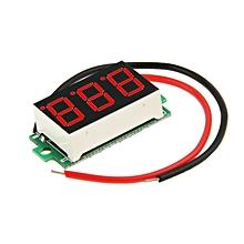 DC 3.2-30V Red Light Mini Digital Voltage Panel Meter