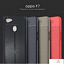 Oppo F7 Back Cover, Case - Black