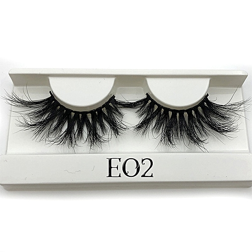 6d49c08ae6f Generic 25mm Long 3D mink lashes extra length mink eyelashes Big dramatic  25mm Mink Lashes 100% Cruelty free Handmade fake lashes(E02 only tray)