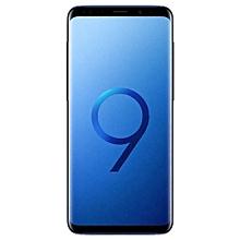 Galaxy S9 Plus (S9+) 6.2-Inch QHD (6GB, 128GB ROM) Android 8.0 Oreo, 12MP + 8MP Dual SIM 4G Smartphone - Coral Blue