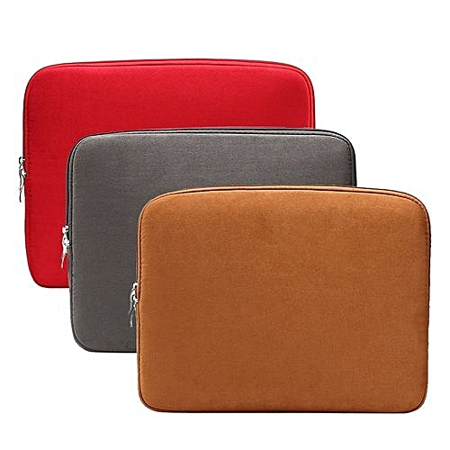 "Generic Zipper Soft Sleeve Laptop Bag Case 11.6"" Inch For MacBook Pro/Air/"