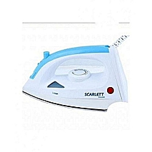 Steam Iron Box - White & Blue