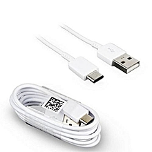 Type C Charge USB Cable 1 METRE Cable - White TYPE C