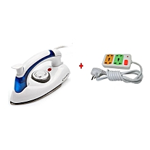 Portable Foldable-Travel  - Steam Iron With Free Extension