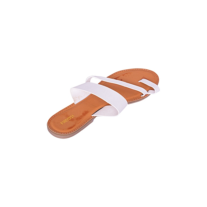 c9e63a73f6fd JB Women Shoes Cute Summer Slip on Ladies Sandals- Off White   Best ...