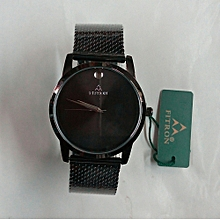 Black Men's Watch With Date
