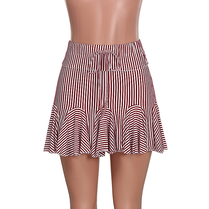 c021ba7e35fe ... Women Fashion Party Cocktail Mini Skirt Dresses Ladies Summer Skater  Short Skirt yumisok ...