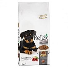 Premium Puppy Food Lamb & Rice - 15kg