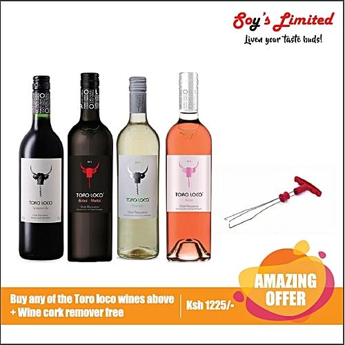 Tempranillo Red + Wine Cork Remover