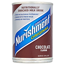 Nurishment Chocolate Milk Drink Rich in Calcium /9 Vitamins