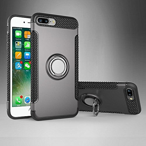 low priced c7ac7 9150d Case For for iphone 8 Plus Case, Protective Rugged Armor Case With 360  Degrees Ring Kickstand Dual Layer Anti Drop Protection Case For for iphone  7 ...