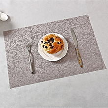 Placemat insulation pad waterproof table mat European Western food