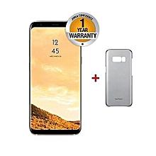 "Symbol S8 4G LTE - 5.7"" - 3GB RAM - 32GB - 13MP Camera - 1.3 Ghz Octa Core - Android 7 - Dual SIM - Gold + Free Case"