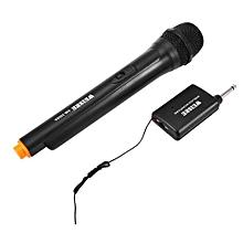 WEISRE DM - 3308A Professional Karaoke Wireless Handheld VHF Transmitter Microphone Set