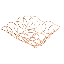 RF6977 - Fruit Basket(Square)- Copper Plating