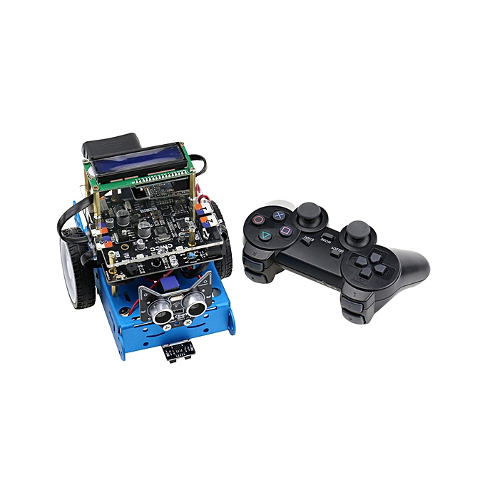 cbot Smart Robot Car DIY Kit Starter Programmable Robot Kid Gift Toy with  Tutorial Line Tracking Module Ultrasonic Sensor Obstacle Avoidance