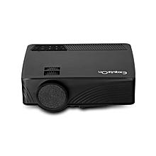 GP12 - Portable LED Projector (1200LM 800*480P) EU - Black