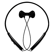 Kapel Bluetooth Headset V4.1 Wireless Neckband Headset Stereo Noise Cancelling Earbuds w/ Mic