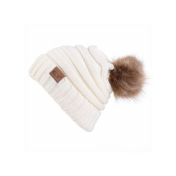 6ba3152099a Men Women Baggy Warm Crochet Winter Wool Knit Ski Beanie Skull Slouchy Caps  Hat