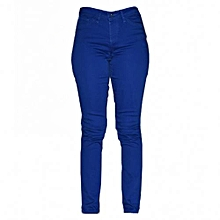 Royal Blue Women's Skinny Pants