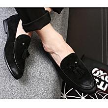 8f0a4b1f62450 Men  039 s Leather Shoes Lazy Men Loafers Slip On Lazy Flats Men
