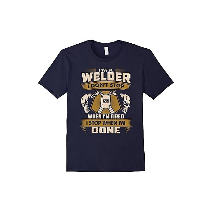 74fa6540 Cheap Short Sleeved Welder Gift Tee Best T-shirt, Funny Cooling Shirt To  Welder