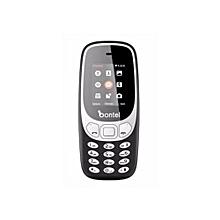 Trio 3310 - 3Sim Card Slots - 2.4inch Colourful Screen - Battery Capacity 1500mAh -Black