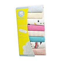 8 Pieces Assorted Color Baby Infant Newborn Washcloth/ Bath towel .