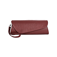 Maroon Ladies Clutch Purse
