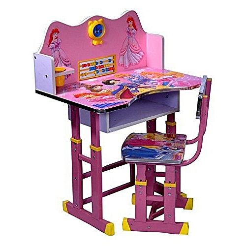 Kids Study Table And Chair Set Computer For