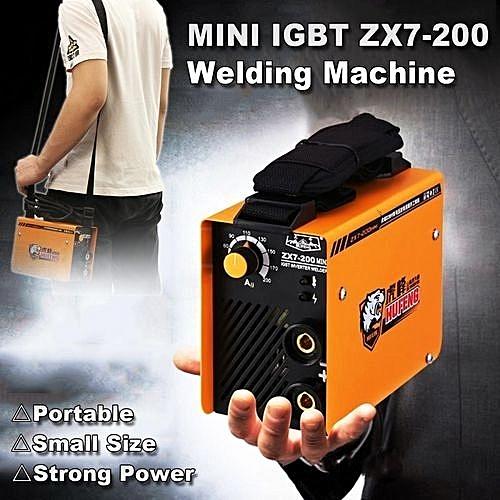 Mini ZX7-200 Welder Inverter ARC Welding Machine Equipment IGBT DC MMA  Portable