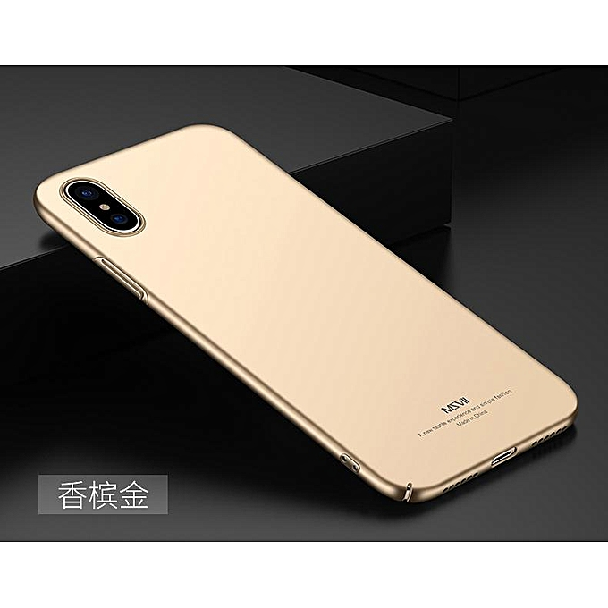 super popular 242f0 6f2d4 For for iphone 9 Luxury Hard PC Case For for iphone 9 Phone Back Cover  (Gold)