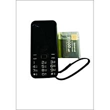 SQ 1000 -20,000mAH Battery Capacity - BT Music Property - Powerbank Feature - Black