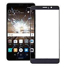 10 PCS Front Screen Outer Glass Lens for Huawei Mate 9(Black)