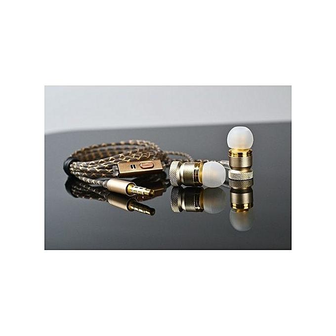 69478aa32c9 ... Metal Earphones In-Ear Bass Headset For Phone Audifonos DJ Music  Earphone Ouvido HIFI Headset ...
